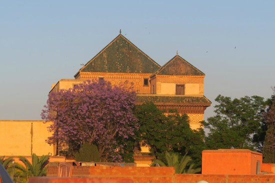 Riad Malika: Best view from terrace roof