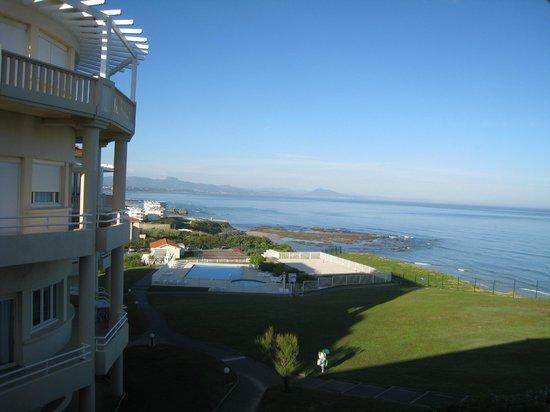 Residence Mer & Golf Eugenie: Vue mer de l'appartement