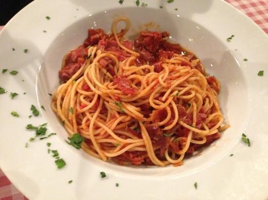 Pivnica Dubrava: spaghetti