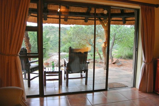 Iketla Lodge : terras