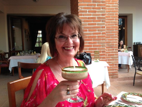 Excellence Playa Mujeres: Tamarind Margarita at the Agave Restaurant