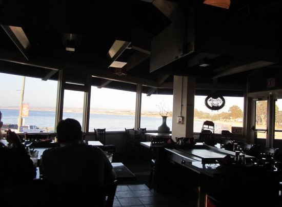 Sapporo Japanese Steakhouse: North Monterey beach view from Sapporo's