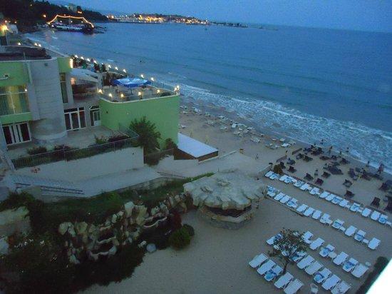 SENTIDO Bilyana Beach: view from room