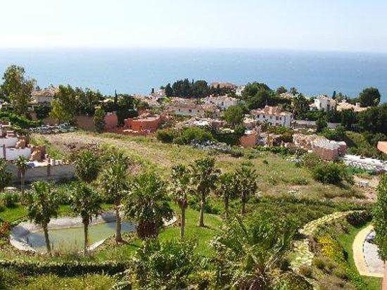 Apartmentos Reserva del Higueron Deluxe and Spa : uitzicht terras