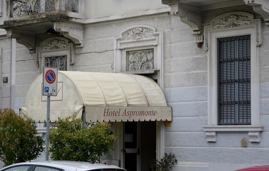 Aspromonte Hotel: Entrata Hotel
