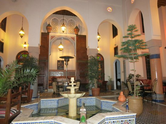 Riad Ahlam: Внутренний дворик риада