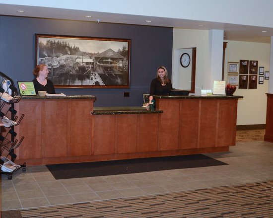 The INN at Gig Harbor : Incredibly friendly and professional guest services agents