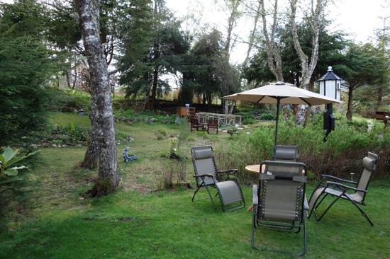 Kettle House B&B : The garden