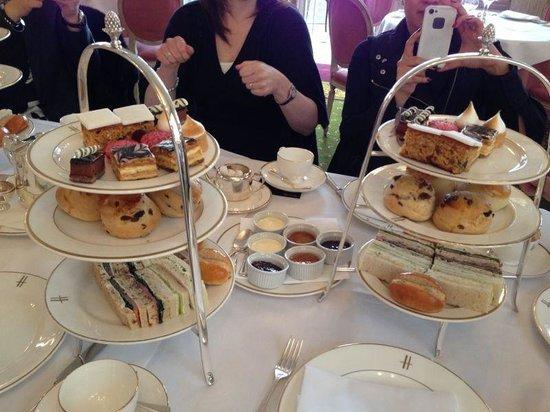 High Tea Harrods Picture Of The Tea Room London