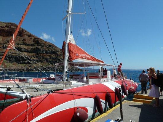Santorini Sailing : the dreamcatcher
