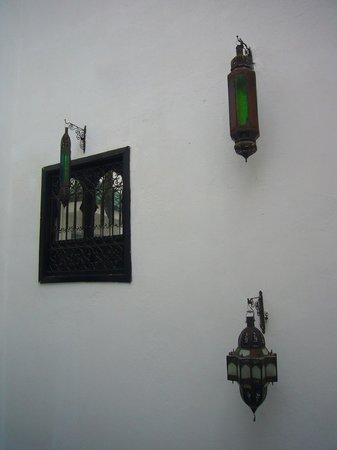Riad Shambala: View of the inner courtyard