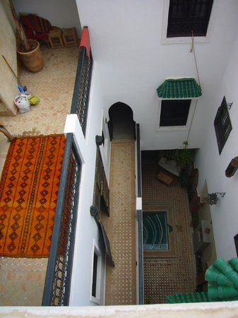 Riad Shambala: View from above
