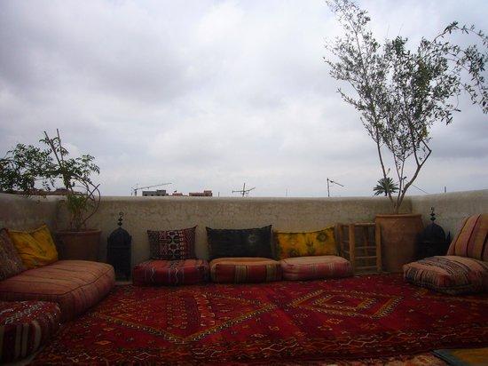 Riad Shambala: One of the terraces