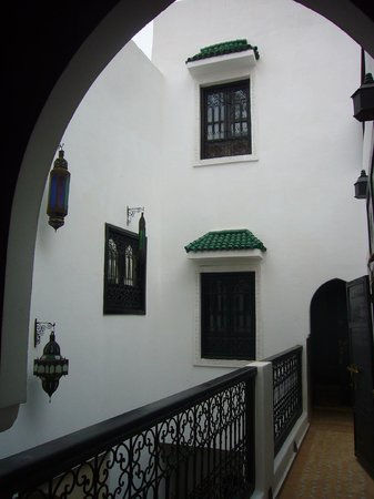 Riad Shambala: View from one of the rooms on first floor