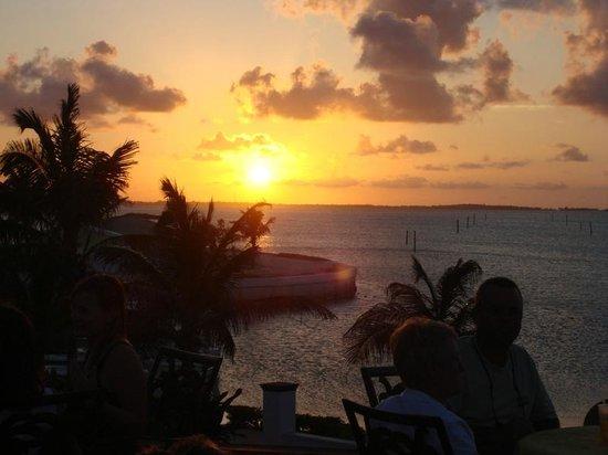 Abaco Inn: Sunset
