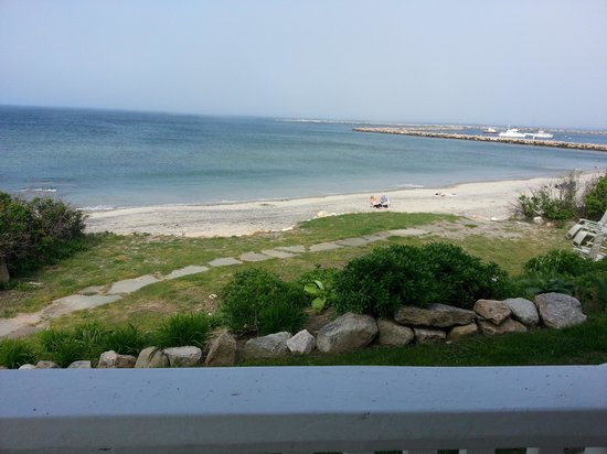 Avonlea, Jewel of the Sea: View of Block Island Harbor from Avaonlea Porch