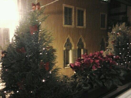 B&B A Casa di Luca: le finestre di natale....