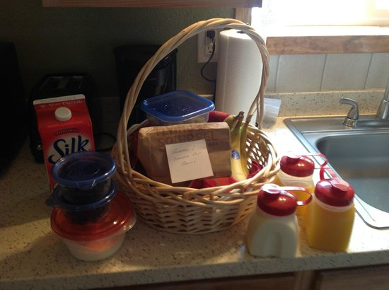 Talkeetna Chalet: Amazing breakfast to go!