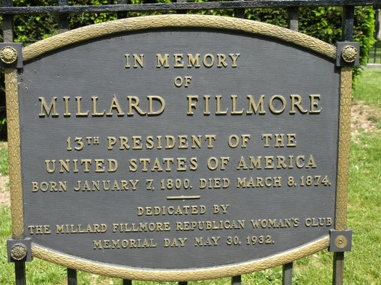 Forest Lawn: Fillmore plaque