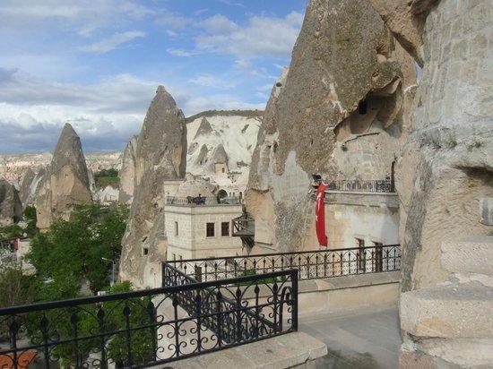 Cappadocia Cave Suites: Room 301, Balcony