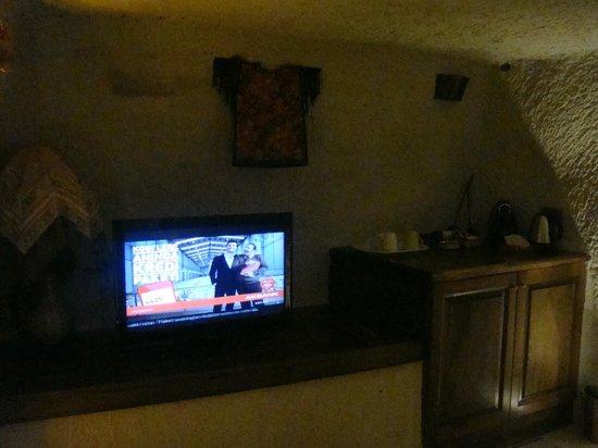 Cappadocia Cave Suites: Room 301, Living Room