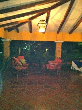 Hotel Trapp Family country Inn: Open air restaurant