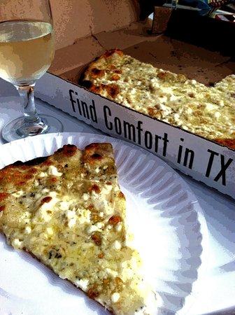 Comfort Pizza : No words needed.