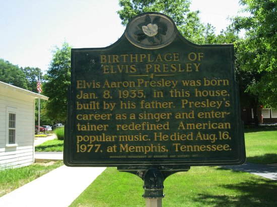Elvis Presley Birthplace & Museum: Elvis Presley Birthplace, Tupelo, Mississippi