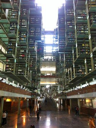 Biblioteca Vasconcelos : Sala principal