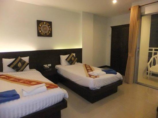 Garden Phuket Hotel: ツインルーム