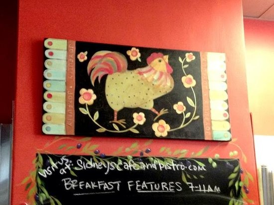 Sidney's Cafe and Bistro : New Kitchen Chicken