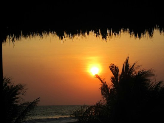 Marina Puesta del Sol: en la playa