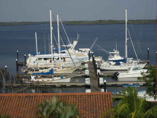 Marina Puesta del Sol: desde el balcon