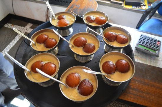 Rabri with Gulab Jamun - Picture of Jwala, Mysuru (Mysore ... Gulab Jamun With Rabri