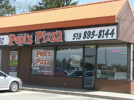 Pepi's Pizza, Kitchener, ON.