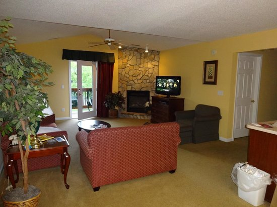 McGaheysville, VA: Massanutten Resort Condo Living Room