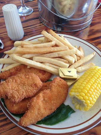 Spurs Grill: The T.V. Dinner quality of chicken strips