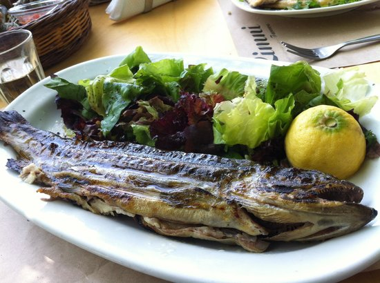 Tavern Limni: Grilled Trout