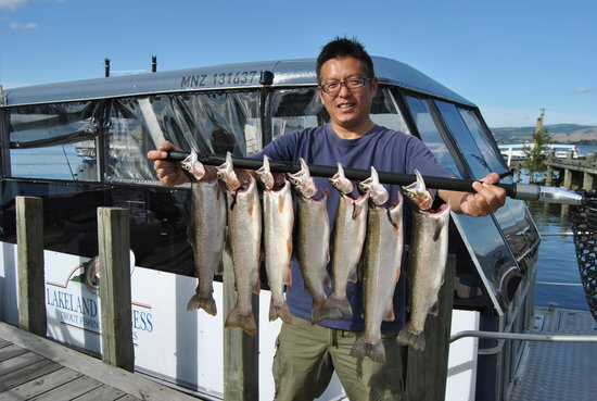 Lakeland Princess Trout Fishing Charters