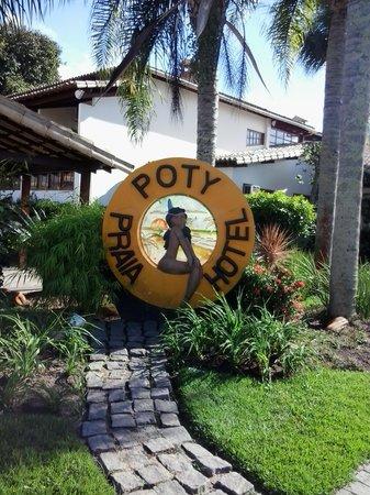 Poty Praia Hotel : Entrada