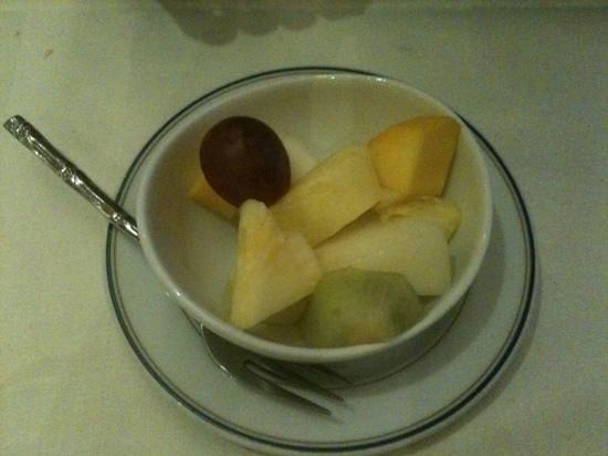 Zen Garden Restaurant : la salade de fruits !!!
