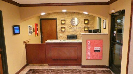 Comfort Inn Yreka: Newly Refreshed Lobby