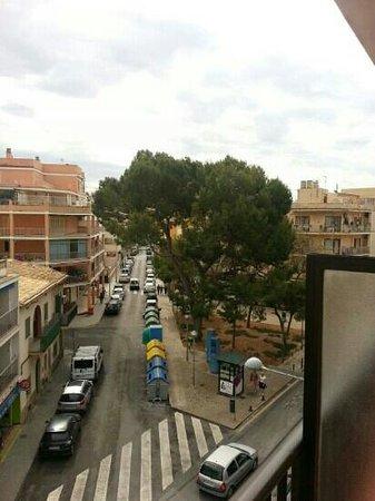 Playas Arenal: Blick vom tollen Balkon