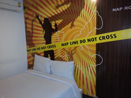 Take a Nap Hotel: Trespassing room