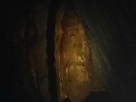 Puerto Princesa Underground River: Jesus' face image rock formation