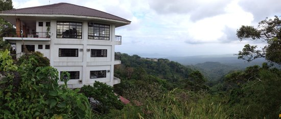 Potter's Ridge Hotel: the hotel was built on a cliff overlook majestic views of Taal volcano and lake and the verdant