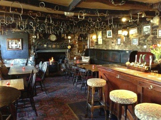 The Wonderful Old Bar Of The Crow's Nest Inn