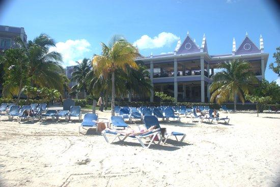 Hotel Riu Montego Bay Mahoe Restaurant From Beach