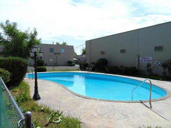 CJS Inn: Filthy swimming pool