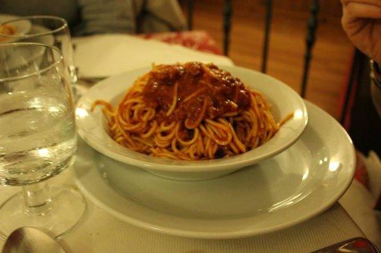 Trattoria Da Mauro: spaghetti alla chitarra